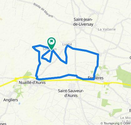 De 6B Rue de l'Amandier, Saint-Jean-de-Liversay à 4 Rue de l'Amandier, Saint-Jean-de-Liversay