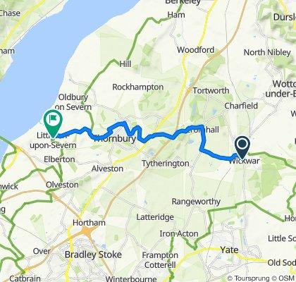 Wickwar to Littleton on Severn