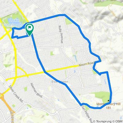 Slow ride in San Jose