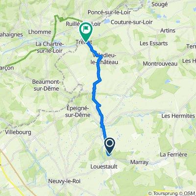 Easy ride in Tréhet