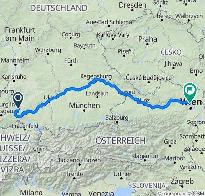 Colmar - Wien Teil 2