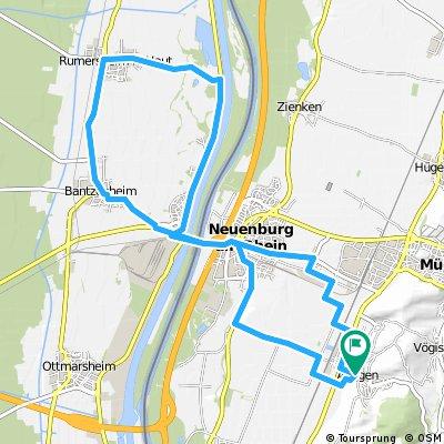 Ray's route #34 Auggen Rumersheim circuit