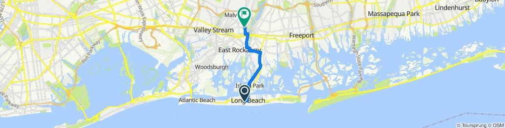 66 E Walnut St, Long Beach to 219 Charles St, Lynbrook