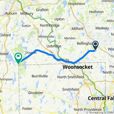 Southern New England Bike Trail