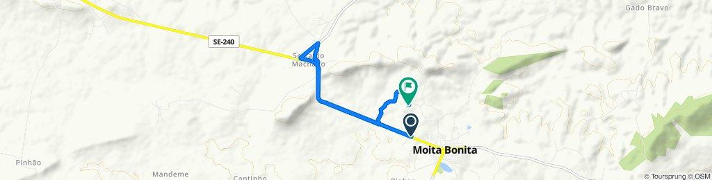 Easy ride in Moita Bonita