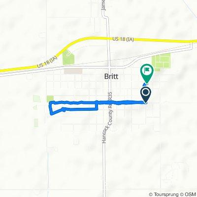 500–598 Third St SE, Britt to 15 SE Fifth Ave NE, Britt
