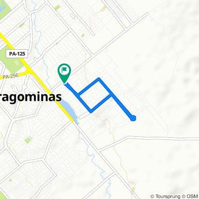 Caminhada lenta Paragominas