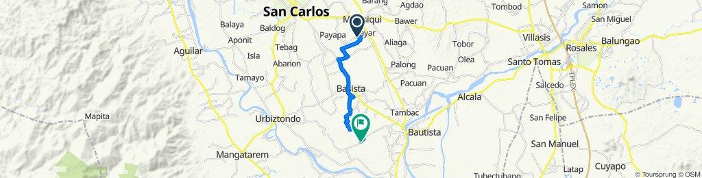 Anolid Brgy Road, Malasiqui to Idong - Tanolong Brgy Road, Bayambang