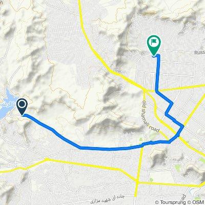 Slow ride in Hazara-I-Baghal