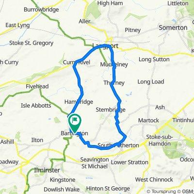 Barrington to Langport loop