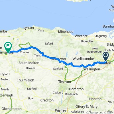 Taunton to Barnstaple