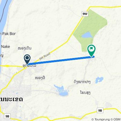 Unnamed Road, Savannakhét to Unnamed Road