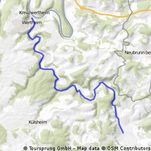 Tauber-Jagst-Neckar Abschnitt 01