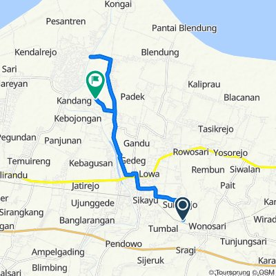 Jalan Sukorejo Tumbal to Unnamed Road, Kecamatan Comal