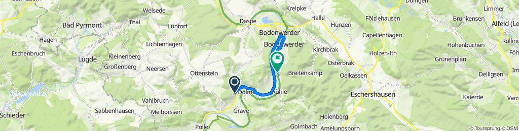 Relaxed route in Bodenwerder