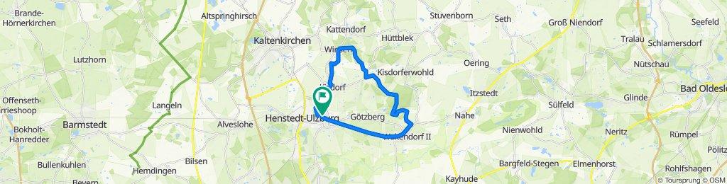 Henstedt-Ulzburg Route [7] und [6]