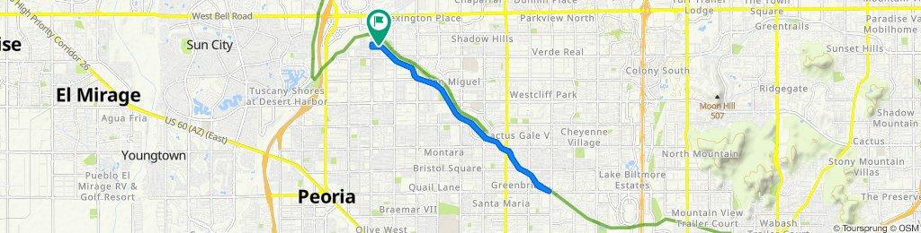Slow ride in Peoria