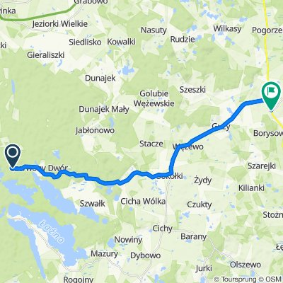 Easy ride in Kowale Oleckie