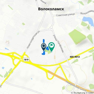 Easy ride in Волоколамск