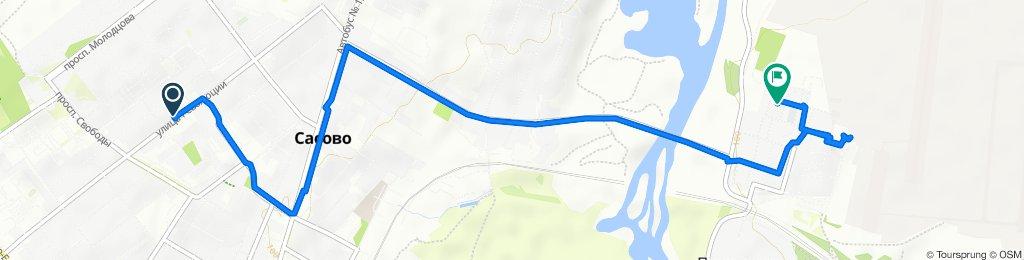 Неторопливый маршрут в Сасово
