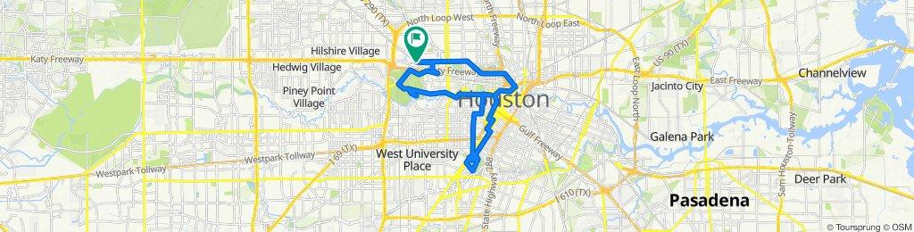 2705 Stetler Pl, Houston to 2705 Stetler Pl, Houston