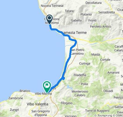 Steady ride in Vibo Valentia