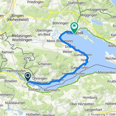 Bodensee-Radweg, Day 2 Etappe 2