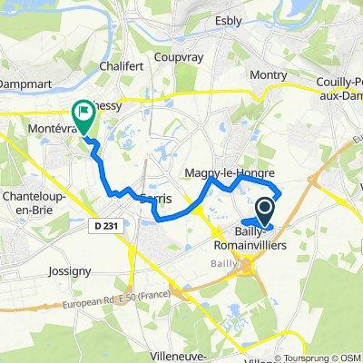 Easy ride in Montévrain