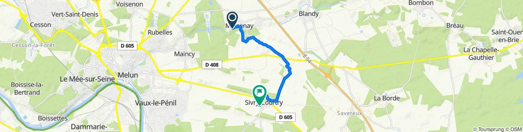 Easy ride in Sivry-Courtry