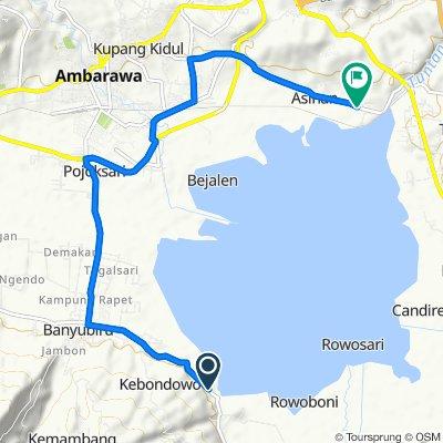 Jalan Raya Muncul, Banyubiru to Jalan Lintas Tuntang -Ambarawa, Bawen