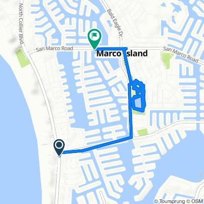 Slow ride in Marco Island