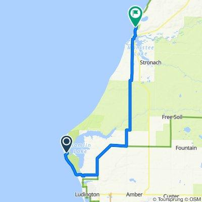 Ludington SP to Orchard Beach SP