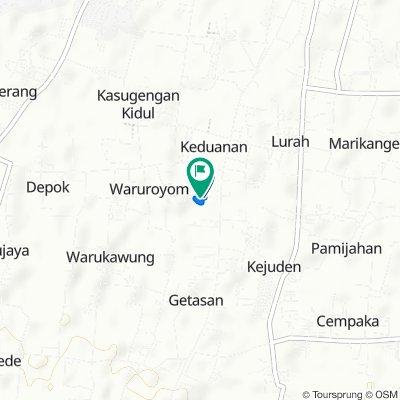 Jalan Pangeran Antasari 89, Kecamatan Plumbon to Jalan Pangeran Antasari 89, Kecamatan Plumbon