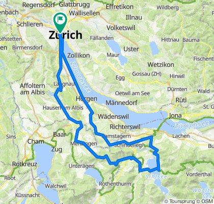 Langstrasse 150, Zürich nach Langstrasse 150, Zürich