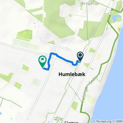 Hal Kochs Vej 14, Humlebæk to Humlehaven 17, Humlebæk