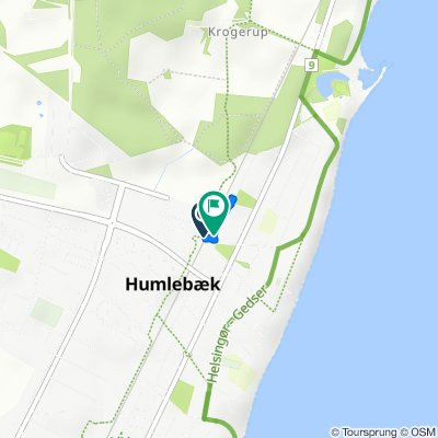 Hal Kochs Vej 14, Humlebæk to Hal Kochs Vej 14, Humlebæk
