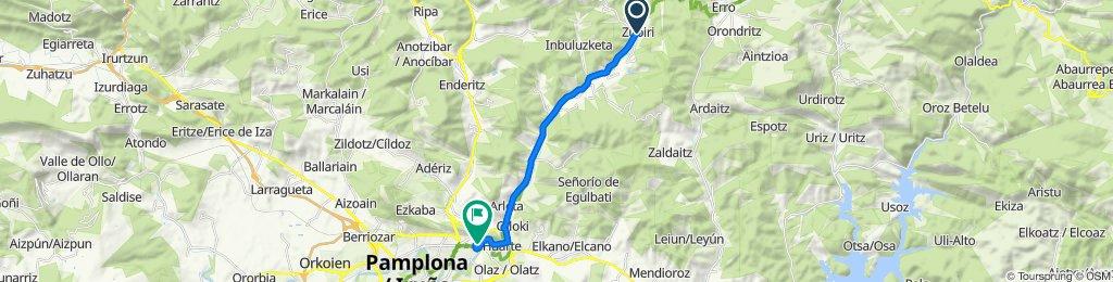 Cracking ride in Villava