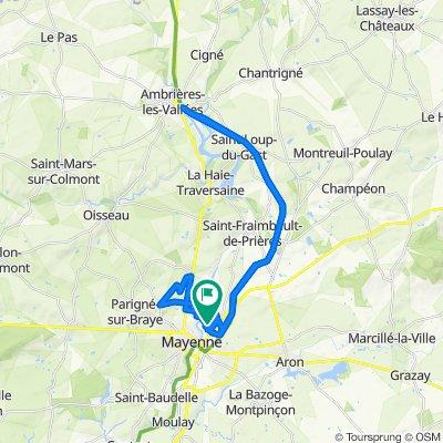 Easy ride in Mayenne