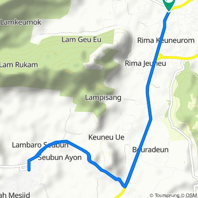 Jalan Banda Aceh - Calang, Peukan Bada to Jalan Banda Aceh - Calang, Peukan Bada