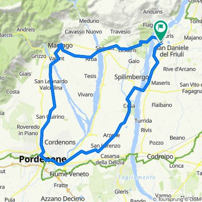 Da Via San Daniele 27, Ragogna a Via ai Colli 2, Ragogna