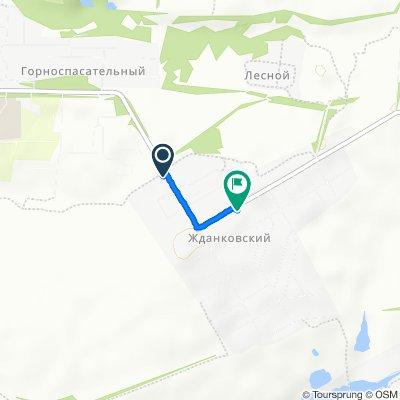От улица Центральная 2, Богородицк до улица Клубная 4, Богородицк