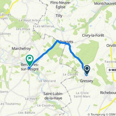 Easy ride in Berchères-sur-Vesgre