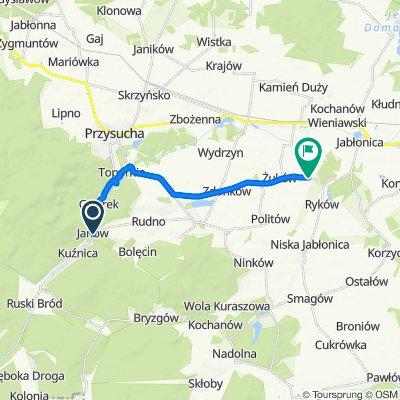 Południowa 74A, Janów do Żuków 1–9, Wieniawa