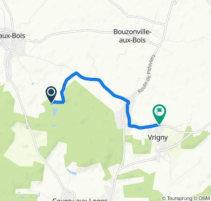 Steady ride in Vrigny