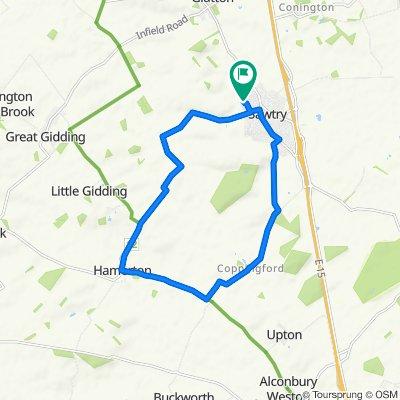 21 Shawley Road, Huntingdon to 21 Shawley Road, Huntingdon