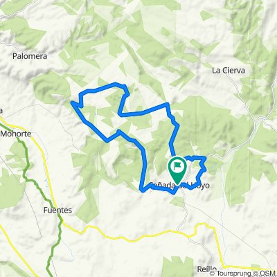 Cañada del Hoyo Cycling