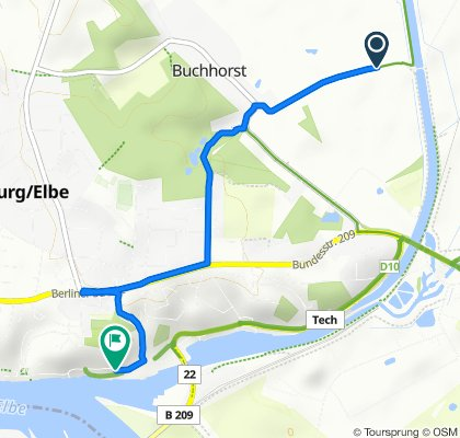 Easy ride in Lauenburg/Elbe