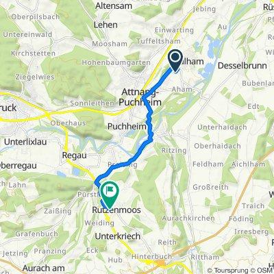 Brunnengasse 104, Attnang-Puchheim nach Rutzenmooser Ring 12