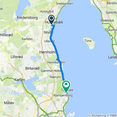 Teglgårdsvej 841, Humlebæk to Bellevuevej 17, Klampenborg