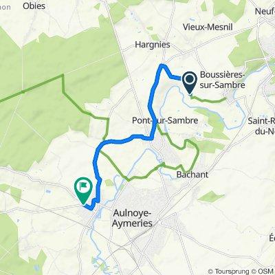 De 31–541 Chemin de Trente, Boussières-sur-Sambre à 1–5 Rue du Puits, Berlaimont